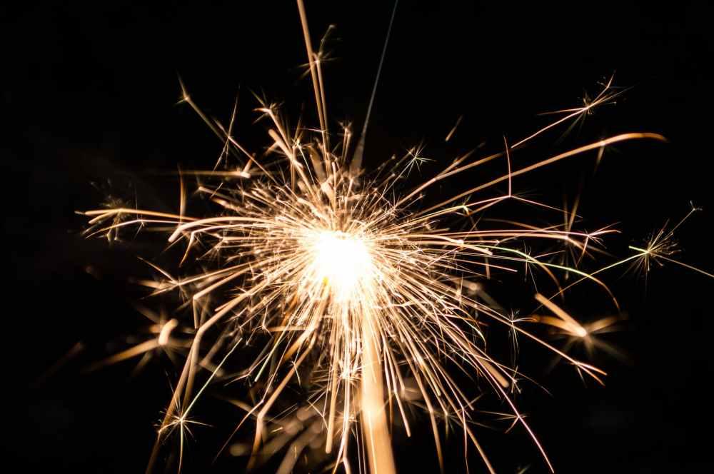 macro photography of firecracker
